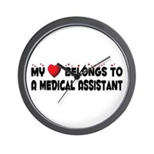 Belongs To A Medical Assistant Wall Clock