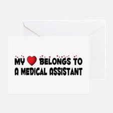 Belongs To A Medical Assistant Greeting Card