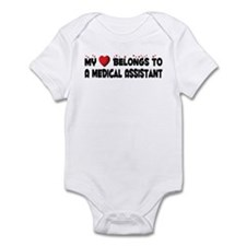 Belongs To A Medical Assistant Infant Bodysuit