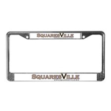 SquaresVille License Plate Frame