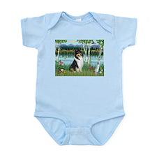 Birches / Collie (tri) Infant Bodysuit