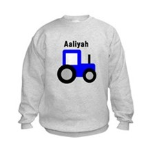 Aaliyah - Blue Tractor Jumpers