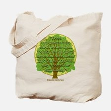 Tree Wisdom Tote Bag