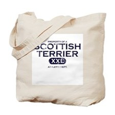Property of Scottish Terrier Tote Bag