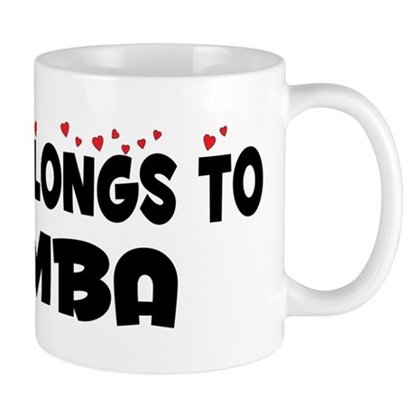 Belongs To An MBA Mug