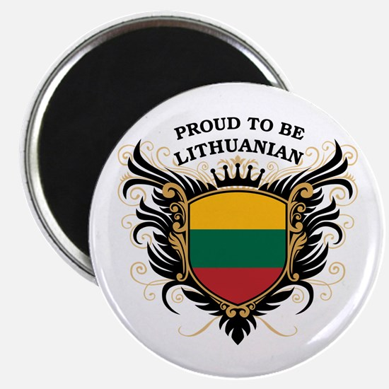 Proud to be Lithuanian Magnet