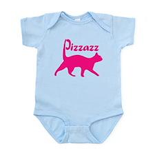 Pizzazz Cat Infant Bodysuit