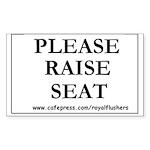 HILLIARIOUS TOILET SEAT SIGN