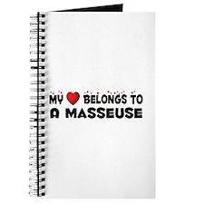 Belongs To A Masseuse Journal