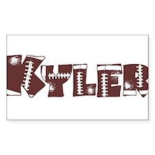 KYLER (FOOTBALL) Rectangle Decal