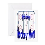 Greatest Hockey MOM Greeting Cards (Pk of 10)