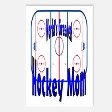Greatest Hockey MOM Postcards (Package of 8)