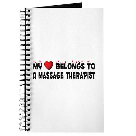 Belongs To A Massage Therapist Journal