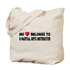 Belongs To A Martial Arts Instructor Tote Bag