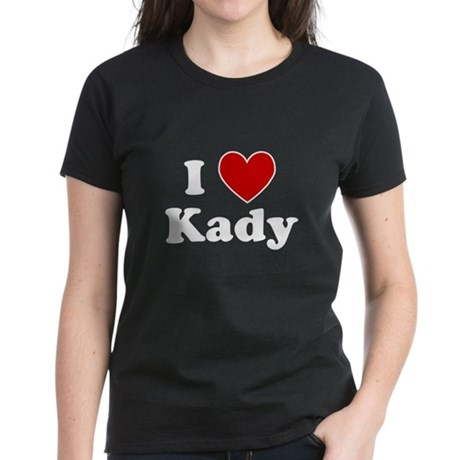 I Heart Kady Women's Dark T-Shirt