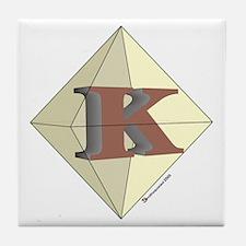 Diamond K Tile Coaster