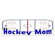 Hockey MOM Bumper Bumper Sticker
