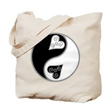 Lovely Ying Yang Tote Bag