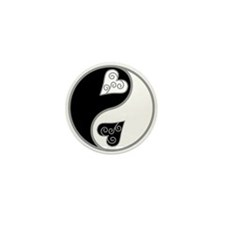Lovely Ying Yang Mini Button (10 pack)