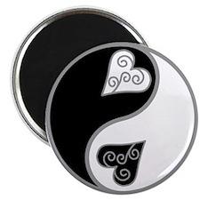 Lovely Ying Yang Magnet