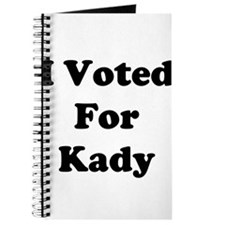 I Vote For Kady Journal