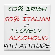 With Attitude! Tile Coaster