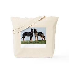 Unique Beauceron Tote Bag