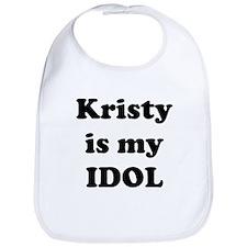 Kristy is my IDOL Bib