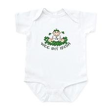 Wee Bit Irish Girl Infant Bodysuit