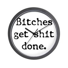 Get It Done Wall Clock