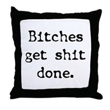 Get It Done Throw Pillow