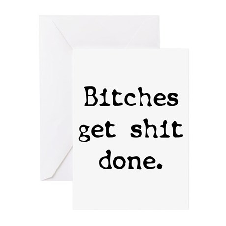 Get It Done Greeting Cards (Pk of 10)