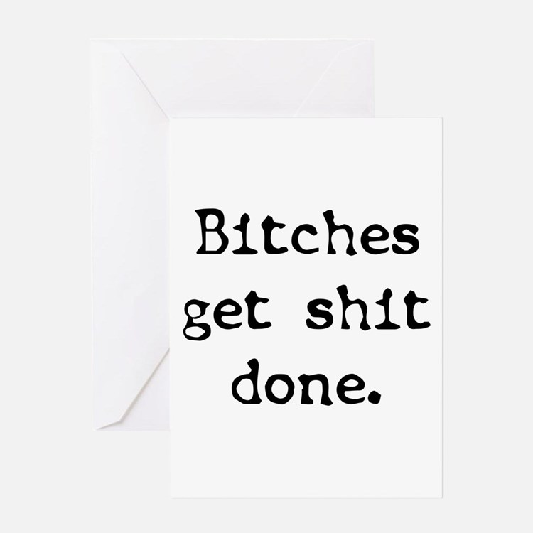 Get It Done Greeting Card