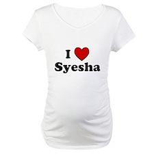 I Heart Syesha Shirt
