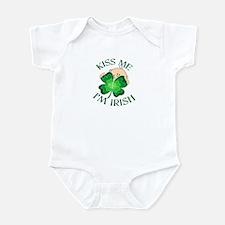 Kiss Me I'm Irish Baby Infant Bodysuit