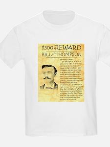 Billy Thompson Reward T-Shirt