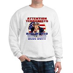 Uncle Sam Anti Terrorist Sweatshirt