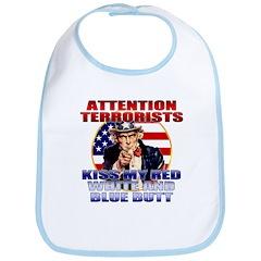 Uncle Sam Anti Terrorist Bib