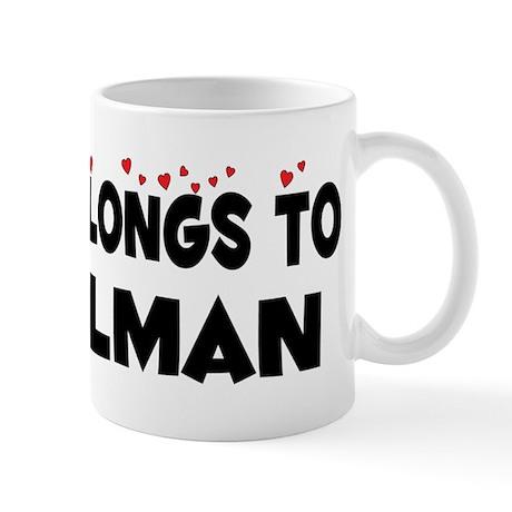 Belongs To A Mailman Mug