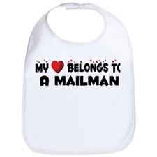 Belongs To A Mailman Bib