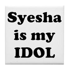 Syesha is my IDOL Tile Coaster