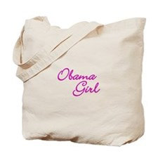 Obama Girl Tote Bag