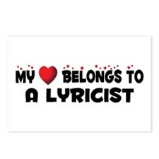 Belongs To A Lyricist Postcards (Package of 8)