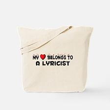 Belongs To A Lyricist Tote Bag