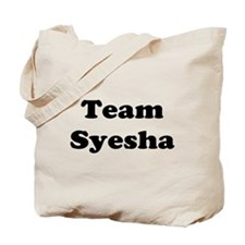 Team Syesha Tote Bag
