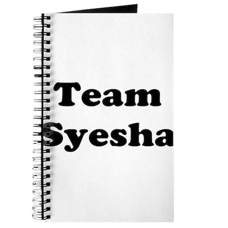 Team Syesha Journal
