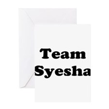 Team Syesha Greeting Card