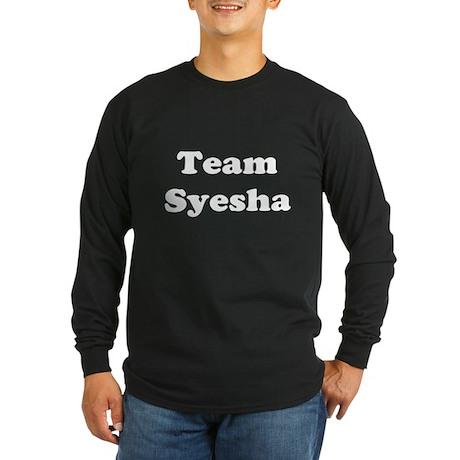 Team Syesha Long Sleeve Dark T-Shirt