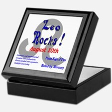 Leo August 10th Keepsake Box