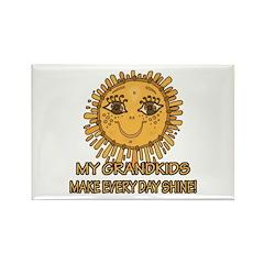 Love Grandparents Rectangle Magnet (10 pack)